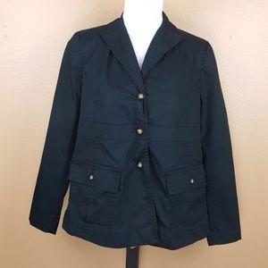 🌟 Liz Lange Navy Blue Blazer Coat Size 6